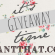 I Want That: A Giveaway
